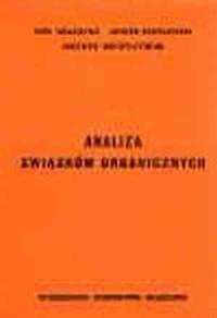 okładka książki - Analiza związków organicznych