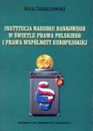 Instytucje nadzoru bankowego w - okładka książki