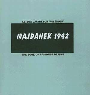 Księga zmarłych więźniów. Majdanek - okładka książki