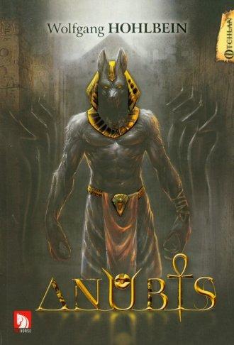 Anubis - okładka książki