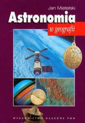 Astronomia w geografii - okładka książki