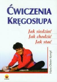 Ćwiczenia kręgosłupa - okładka książki