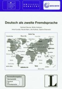 Deutsch als zweite Fremdsprache - okładka podręcznika