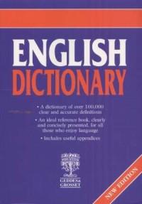 English Dictionary - okładka książki
