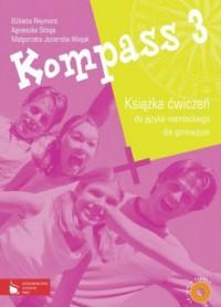 Kompass 3. Ćwiczenia (+ CD) - okładka podręcznika