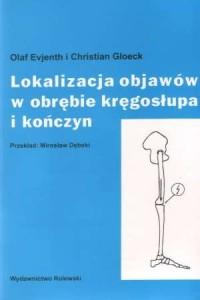 Lokalizacja objawów w obrębie kręgosłupa - okładka książki