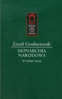 Monarchia narodowa. Biblioteka - okładka książki