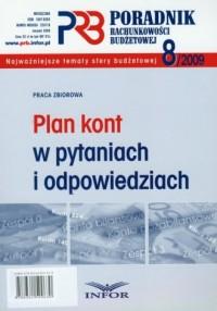Poradnik rachunkowości budżetowej 8/2009. Plan kont w pytaniach i odpowiedziach - okładka książki