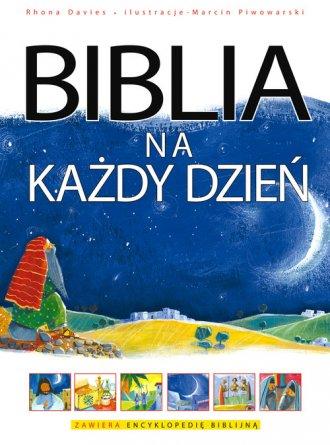 Biblia na każdy dzień - okładka książki