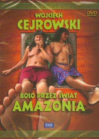 Boso przez świat. Amazonia (DVD) - pudełko audiobooku