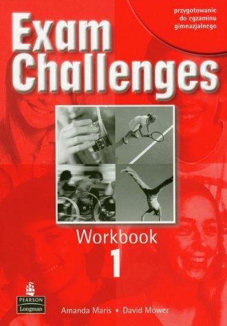 Exam Challenges 1. Workbook - okładka książki