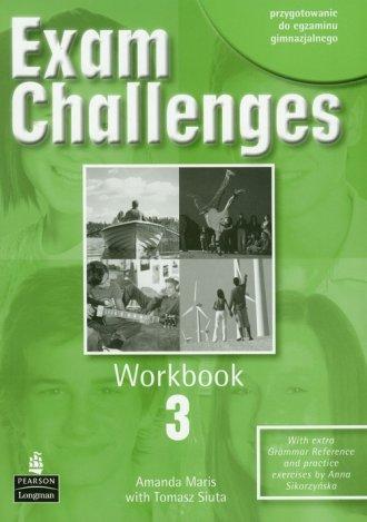Exam Challenges 3. Workbook - okładka podręcznika