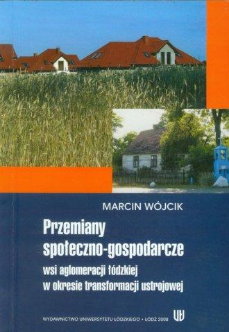 Przemiany społeczno-gospodarcze - okładka książki