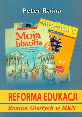Reforma edukacji - okładka książki