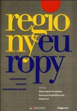 Regiony Europy. Uwarunkowania, - okładka książki