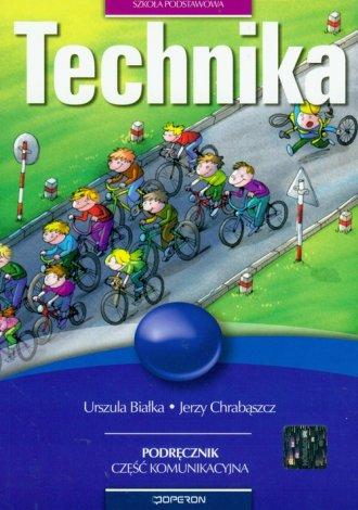 Technika. Szkoła podstawowa. Podręcznik. - okładka podręcznika