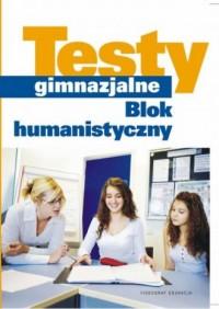 Testy gimnazjalne - okładka książki