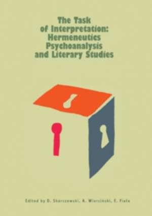 The Task of Interpretation: Hermeneutics - okładka książki
