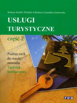 Usługi turystyczne cz. 2. Podręcznik - okładka książki