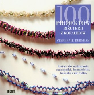 100 projektów biżuterii z koralików - okładka książki