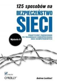 125 sposobów na bezpieczeństwo sieci - okładka książki