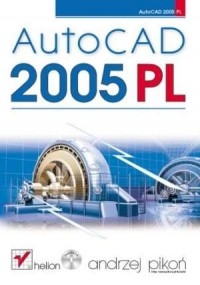 AutoCAD 2005 PL - okładka książki
