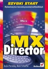Director MX. Szybki start - okładka książki