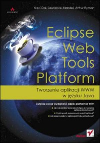 Eclipse Web Tools Platform. Tworzenie aplikacji WWW w języku Java - okładka książki