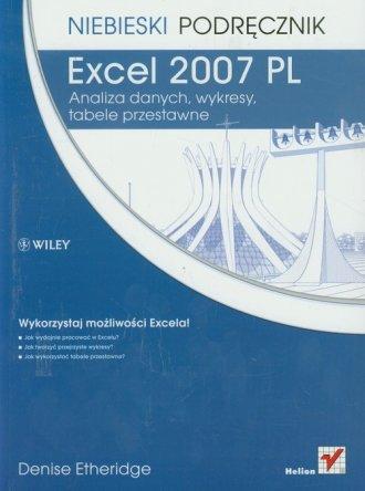 Excel 2007 PL. Analiza danych, - okładka książki