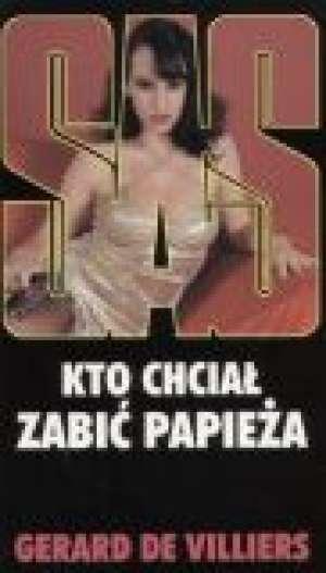Kto chciał zabić papieża SAS 3 - okładka książki