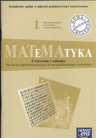 MATeMAtyka 1. Liceum ogólnokształcące, - okładka podręcznika