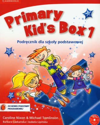 Primary Kid s Box 1. Język angielski. - okładka podręcznika