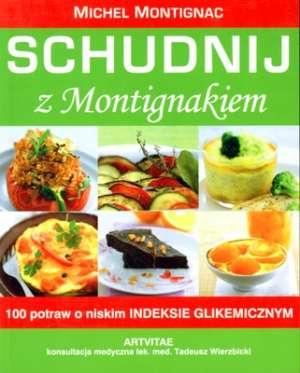Schudnij z Montignakiem - okładka książki