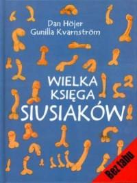 Wielka księga siusiaków - okładka książki