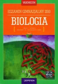 Biologia. Vademecum 2010. Egzamin gimnazjalisty (+ CD) - okładka podręcznika