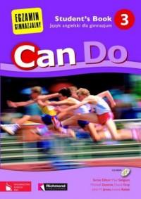 Can Do 3. Student s Book. Język angielski dla gimnazjum (+ CD-ROM) - okładka podręcznika
