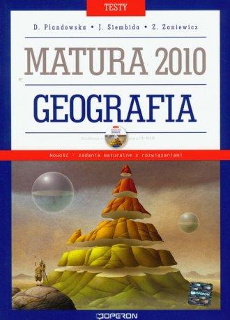 Geografia. Matura 2010. Testy (+ - okładka podręcznika