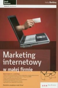 Marketing internetowy w małej firmie - okładka książki