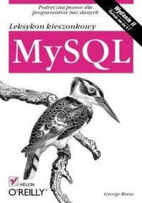 MySQL. Leksykon kieszonkowy - okładka książki