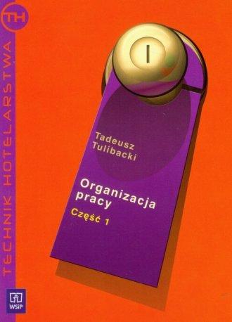 Organizacja pracy cz. 1 - okładka podręcznika