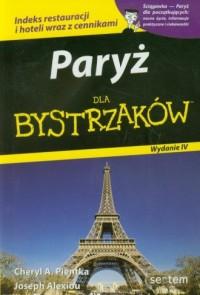 Paryż dla bystrzaków - okładka książki