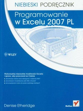 Programowanie w Excelu 2007 PL. - okładka książki