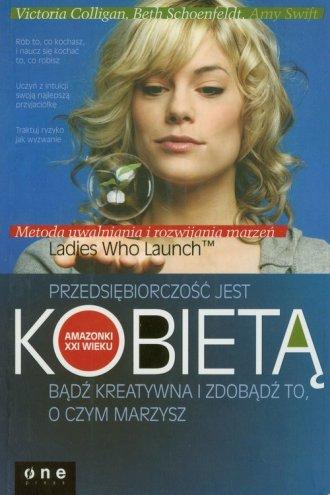 Przedsiębiorczość jest kobietą. - okładka książki