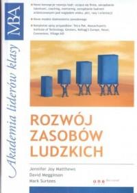 Rozwój zasobów ludzkich - okładka książki