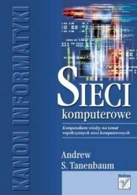 Sieci komputerowe - okładka książki