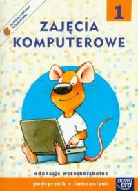 Zajecia komputerowe 1. Podręcznik - okładka podręcznika