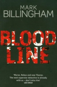 Blood Line - okładka książki