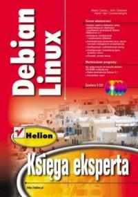 Debian Linux. Księga eksperta - okładka książki