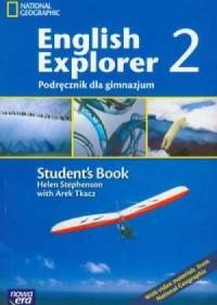 English Explorer 2. Student s Book. Podręcznik dla gimnazjum (+ CD) - okładka podręcznika