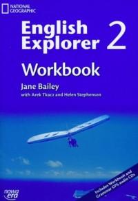 English Explorer 2. Workbook (+ CD) - okładka podręcznika